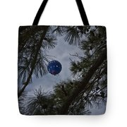 Balloon In The Pines Tote Bag