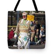 Balloon Salesman Tote Bag