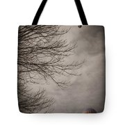 Balloons In The Pines Tote Bag