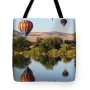 Balloons Over Horse Heaven Tote Bag