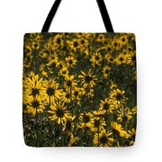 Balsamroot Field In Grand Teton Tote Bag