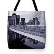 Baltic And Gateshead Millennium Bridge Tote Bag