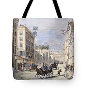 Baltimore, 1856 Tote Bag