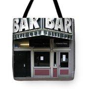 Baltimore Bar Tote Bag