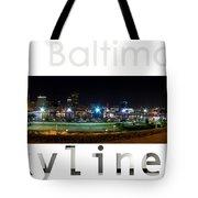 Baltimore Downtown Tote Bag