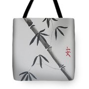 Bamboo Art Tote Bag