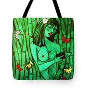 Bamboo Maiden Tote Bag