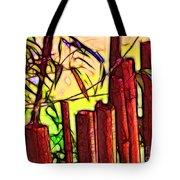 Bamboo Wind Chimes Tote Bag