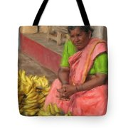 Banana Seller Tote Bag