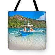 Bangka Boat Tote Bag