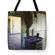 Bannack Ghost Town Kitchen Stove 2 Tote Bag