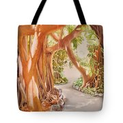 Banyan In The Afternoon Tote Bag