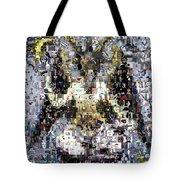 Baphomet Mosaic Tote Bag
