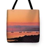 Bar Harbor Dawn Tote Bag