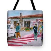 Bar Ristorante Mt. Etna Sicily Tote Bag