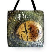 Barack Obama Jupiter Tote Bag by Augusta Stylianou