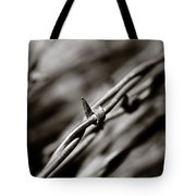 Barbbed Wire 1 Tote Bag