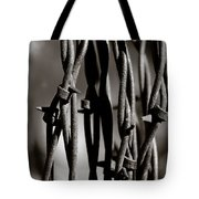 Barbbed Wire 2 Tote Bag