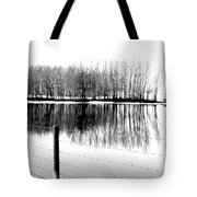 Barbed Water Tote Bag