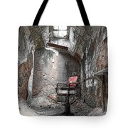 Barber - Chair - Eastern State Penitentiary Tote Bag