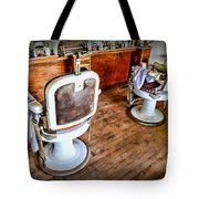 Barber - The Barber Shop 2 Tote Bag by Paul Ward