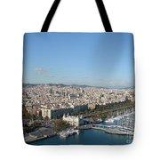 Barcelona View 2 Tote Bag