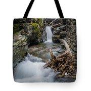 Baring Creek Waterfall And Rapids Tote Bag