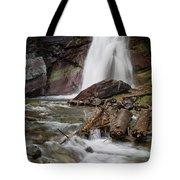 Baring Falls In Spring Tote Bag