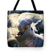 Barking Bull Tote Bag