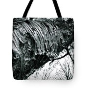 Barking Up At The Sky Tote Bag