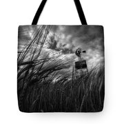 Barley And The Pump Mono Tote Bag