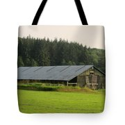 Barn And Barbwire Tote Bag