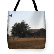 Barn And Windmill Tote Bag