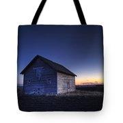 Barn At Sunset, Fort Saskatchewan Tote Bag