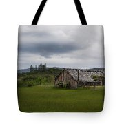 Barn Near Shady Cove Tote Bag