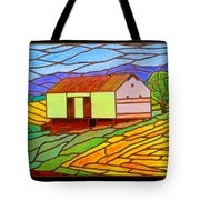 Barn On Springhill Road Tote Bag