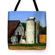 Barn Out Back Tote Bag