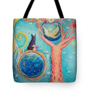 Baron's Painting Tote Bag