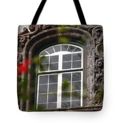 Baroque Style Window Tote Bag