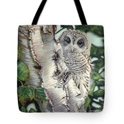 Barred Owl II Tote Bag