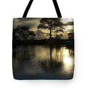 Barrie Harbour Sunrise Tote Bag