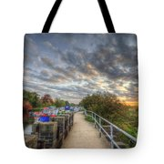 Barrow Sunrise Tote Bag