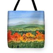 Barton Vermont Autumn Tote Bag