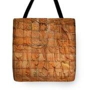 Bas Relief Tote Bag