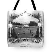 Baseball, 1861 Tote Bag