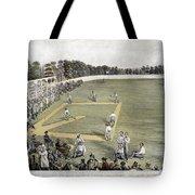Baseball, 1866 Tote Bag
