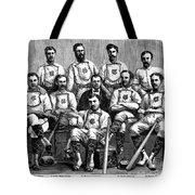 Baseball: Canada, 1874 Tote Bag by Granger