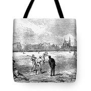 Baseball: England, 1874 Tote Bag