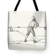 Baseball Game, 1889 Tote Bag
