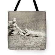 Baseball Game, C1887 Tote Bag